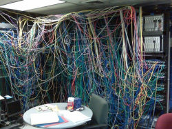 Glad this is not my Server Room